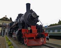 промышленный локомотивный памятник Стоковое Изображение