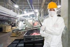 Промышленный мясник Стоковое Фото