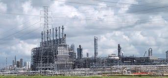 Промышленный объект электрической станции электропитания стоковое изображение rf