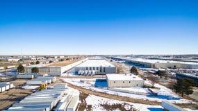 Промышленный парк Стоковая Фотография RF