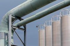 промышленный пейзаж стоковые фотографии rf