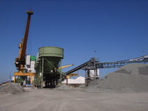 промышленный порт Стоковое фото RF