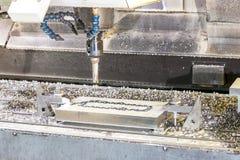 Промышленный сверлить скорости прессформы/пробела металла Инженерство металла, c стоковое изображение