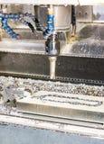 Промышленный сверлить скорости прессформы/пробела металла Инженерство металла, c стоковые фото