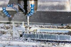 Промышленный сверлить скорости прессформы/пробела металла Инженерство металла, c стоковое фото rf