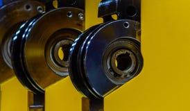 Промышленный стальной цилиндр Стоковая Фотография