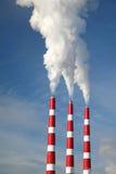 промышленный стог дыма Стоковые Изображения RF