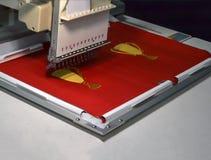 промышленный шить машины стоковая фотография