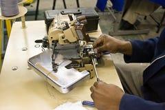 промышленный шить машины стоковые изображения rf