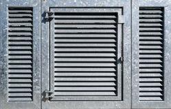 Промышленная дверь металла Стоковые Изображения RF