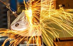Промышленная заварка автомобильная Стоковая Фотография RF