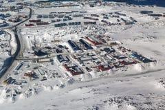 Промышленная зона в Nussuaq Стоковые Изображения