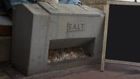 Промышленная коробка соли Стоковые Изображения RF