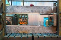 Промышленная машина в фабрике Стоковые Фотографии RF