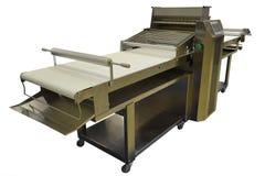 Промышленная машина для свертывая теста Стоковое Изображение RF