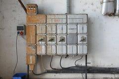 Промышленная доска переключателя Стоковые Изображения RF