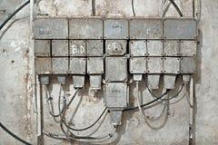 Промышленная доска переключателя Стоковое Фото