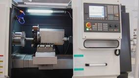 Промышленная панель дистанционного управления manufactory металла работая Стоковые Фотографии RF