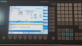 Промышленная панель дистанционного управления manufactory металла работая, весьма закрывает вверх Стоковое Изображение RF