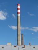 Промышленная печная труба фабрики Стоковые Фотографии RF