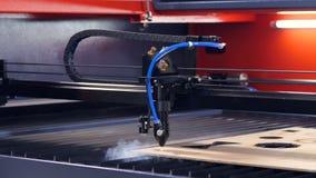 Промышленная древесина вырезывания engraver лазера акции видеоматериалы