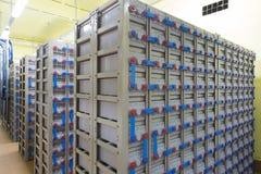 Промышленная резервная электрическая система Стоковое Изображение
