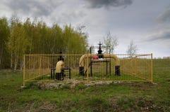 Промышленная станция распределения газа Стоковое Изображение RF