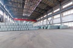 Промышленное законченное - склад продуктов Стоковые Фото