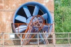 Промышленное здание, стояк водяного охлаждения, ротор Стоковое Изображение