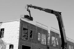 Промышленное машинное оборудование на worksite строительной конструкции Стоковое фото RF