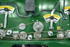 Промышленное машинное оборудование с cogs Стоковое Изображение RF