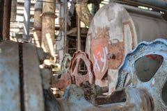промышленное машинное оборудование Стоковая Фотография