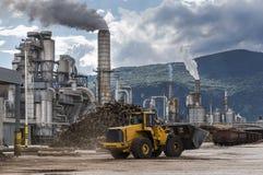 промышленное место Стоковая Фотография RF