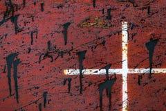 Промышленное несенное фото крупного плана металла Стоковые Фотографии RF