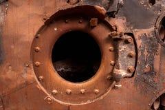 Промышленное несенное фото крупного плана металла Стоковая Фотография RF