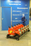 Промышленное оборудование выставки Стоковая Фотография RF