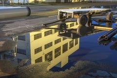 промышленное отражение Стоковые Фото