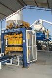 Промышленное производство кирпича Стоковая Фотография RF