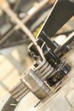 Промышленное производство кирпича Стоковые Фотографии RF