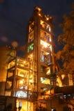 Промышленное производство цемента Стоковая Фотография
