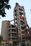 Промышленное производство цемента Стоковые Фотографии RF