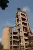 Промышленное производство цемента Стоковые Изображения