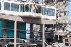 Промышленное сокрушенное здание Стоковое Изображение