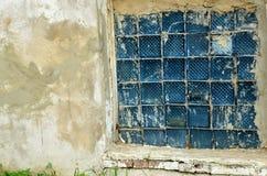 Промышленное старое окно Стоковое Изображение