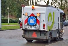 Промышленное транспортное оборудование, чистка улицы Стоковые Фотографии RF