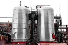 Промышленное химическое хранение Стоковое фото RF