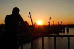 Промышленное Kyiv Стоковая Фотография