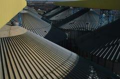 Промышленные зернохранилища Стоковые Фотографии RF
