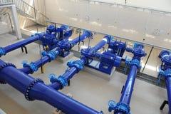 промышленные клапаны труб Стоковая Фотография RF