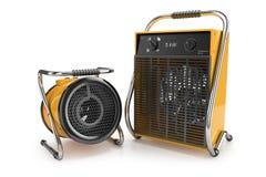 Промышленные подогреватели вентилятора 3d бесплатная иллюстрация